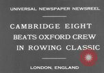 Image of Rowing Classic London England United Kingdom, 1931, second 4 stock footage video 65675041975