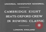 Image of Rowing Classic London England United Kingdom, 1931, second 6 stock footage video 65675041975