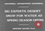 Image of surf board Winter Haven Florida USA, 1931, second 4 stock footage video 65675041976
