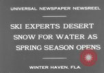 Image of surf board Winter Haven Florida USA, 1931, second 6 stock footage video 65675041976