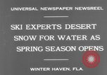Image of surf board Winter Haven Florida USA, 1931, second 8 stock footage video 65675041976