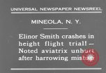 Image of Elinor Smith Mineola New York USA, 1931, second 7 stock footage video 65675041977