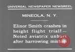 Image of Elinor Smith Mineola New York USA, 1931, second 8 stock footage video 65675041977
