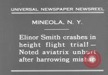 Image of Elinor Smith Mineola New York USA, 1931, second 9 stock footage video 65675041977