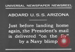 Image of President Hoover aboard USS Arizona United States USA, 1931, second 5 stock footage video 65675041983