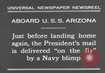 Image of President Hoover aboard USS Arizona United States USA, 1931, second 9 stock footage video 65675041983
