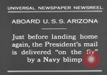 Image of President Hoover aboard USS Arizona United States USA, 1931, second 10 stock footage video 65675041983