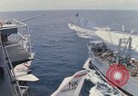 Image of USS Pollux and USS Constellation Gulf of Tonkin Vietnam, 1967, second 2 stock footage video 65675042002