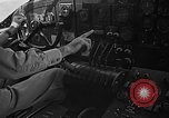 Image of controls of engine Eglin Air Force Base Okaloosa County Florida USA, 1952, second 4 stock footage video 65675042022