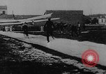 Image of man attempts to fly bicycle with wings France, 1912, second 4 stock footage video 65675042052