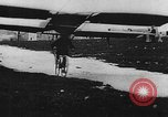 Image of man attempts to fly bicycle with wings France, 1912, second 12 stock footage video 65675042052
