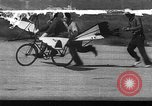 Image of ornithopter bicycle California United States USA, 1937, second 1 stock footage video 65675042053