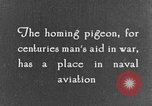 Image of carrier pigeon United States USA, 1925, second 9 stock footage video 65675042068