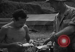 Image of flame thrower Senaga Shima Japan, 1945, second 9 stock footage video 65675042121