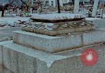 Image of granite stone lantern Hiroshima Japan, 1946, second 2 stock footage video 65675042127