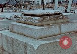 Image of granite stone lantern Hiroshima Japan, 1946, second 4 stock footage video 65675042127