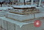 Image of granite stone lantern Hiroshima Japan, 1946, second 5 stock footage video 65675042127