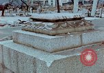 Image of granite stone lantern Hiroshima Japan, 1946, second 7 stock footage video 65675042127