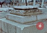 Image of granite stone lantern Hiroshima Japan, 1946, second 10 stock footage video 65675042127