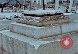 Image of granite stone lantern Hiroshima Japan, 1946, second 12 stock footage video 65675042127