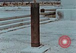 Image of wooden post Hiroshima Japan, 1946, second 5 stock footage video 65675042128