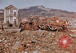 Image of wrecked steel structure Nagasaki Japan, 1946, second 4 stock footage video 65675042144
