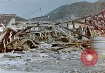 Image of fire truck trapped Nagasaki Japan, 1946, second 12 stock footage video 65675042182