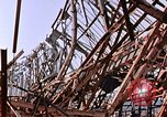 Image of steel beam structure Nagasaki Japan, 1946, second 2 stock footage video 65675042183