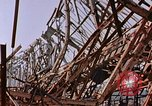 Image of steel beam structure Nagasaki Japan, 1946, second 5 stock footage video 65675042183