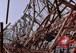 Image of steel beam structure Nagasaki Japan, 1946, second 7 stock footage video 65675042183