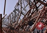 Image of steel beam structure Nagasaki Japan, 1946, second 9 stock footage video 65675042183