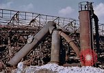 Image of collapsed metal stack Nagasaki Japan, 1946, second 5 stock footage video 65675042187