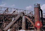 Image of collapsed metal stack Nagasaki Japan, 1946, second 8 stock footage video 65675042187