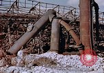 Image of collapsed metal stack Nagasaki Japan, 1946, second 12 stock footage video 65675042187