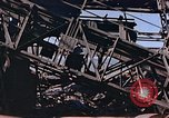 Image of ten ton crane Nagasaki Japan, 1946, second 9 stock footage video 65675042190