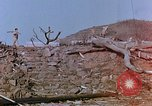 Image of rubble cleared after atomic bomb explosion Nagasaki Japan, 1946, second 3 stock footage video 65675042193