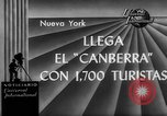 Image of British liner Canberra New York United States USA, 1962, second 3 stock footage video 65675042224