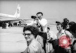 Image of Jacquelin Kennedy Rome Italy, 1962, second 10 stock footage video 65675042226