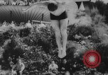 Image of diving competition Germany, 1962, second 10 stock footage video 65675042230