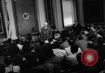 Image of Dwight D Eisenhower Washington DC USA, 1960, second 11 stock footage video 65675042231