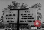 Image of 1960 Democratic convention Los Angeles California USA, 1960, second 10 stock footage video 65675042232