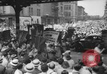 Image of demonstration New York United States USA, 1935, second 1 stock footage video 65675042248