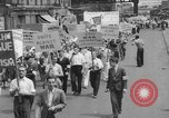 Image of demonstration New York United States USA, 1935, second 6 stock footage video 65675042248