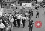 Image of demonstration New York United States USA, 1935, second 7 stock footage video 65675042248