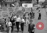 Image of demonstration New York United States USA, 1935, second 8 stock footage video 65675042248