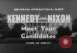 Image of John F Kennedy campaigning for 1960 election United States USA, 1960, second 2 stock footage video 65675042263