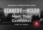 Image of John F Kennedy campaigning for 1960 election United States USA, 1960, second 7 stock footage video 65675042263