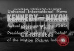 Image of John F Kennedy campaigning for 1960 election United States USA, 1960, second 8 stock footage video 65675042263