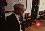 Image of James R Schlesinger Washington DC USA, 1974, second 2 stock footage video 65675042307