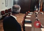Image of James R Schlesinger Washington DC USA, 1974, second 4 stock footage video 65675042307